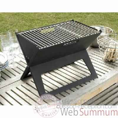 12 Barbecues Garden Party Notebook portable Grill Grilltech - BBQ00005
