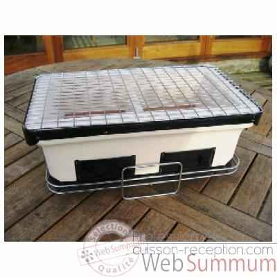 6 Barbecues Table Garden Party Yakatori Grill Grilltech - BBQ00058