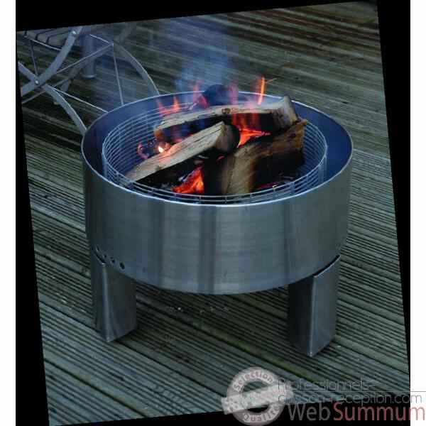 Barbecue Revolver Fire Pit, Grill Grilltech - FIR00003