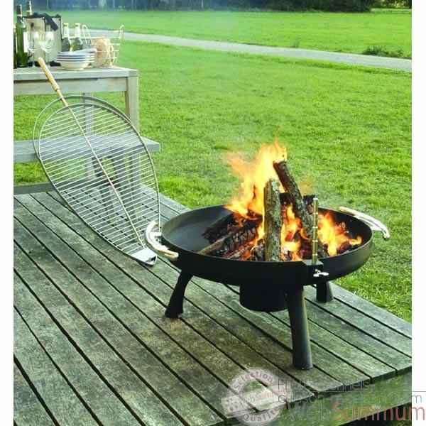barbecue space brazier 800 grilltech fir00002 dans barbecue table et mobile. Black Bedroom Furniture Sets. Home Design Ideas