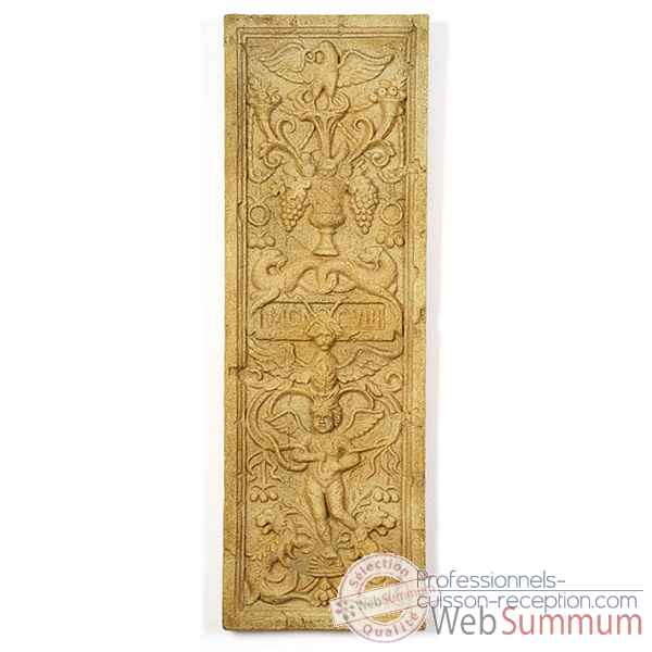 Decoration murale-Modele Angel Wall Decor, surface fer-bs3089iro