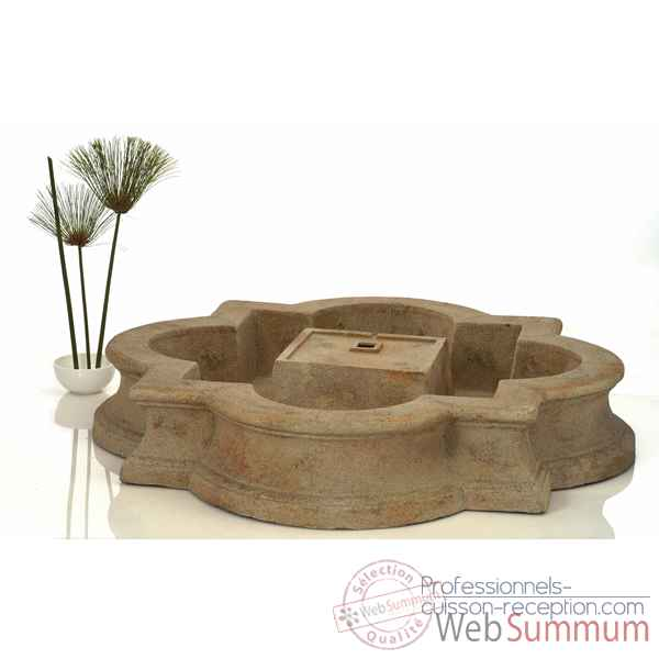 Fontaine-Modele Madrid Fountain Basin, surface granite-bs3160gry