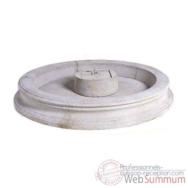 Fontaine-Modele Palermo Fountain Basin, surface granite-bs3311gry