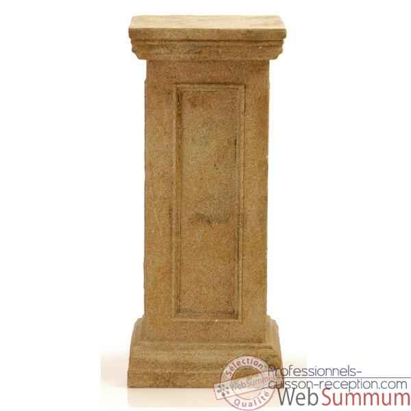 Video Colonne et Piedestal Bristol Podest Medium, bronze et vert de gris -bs1024vb
