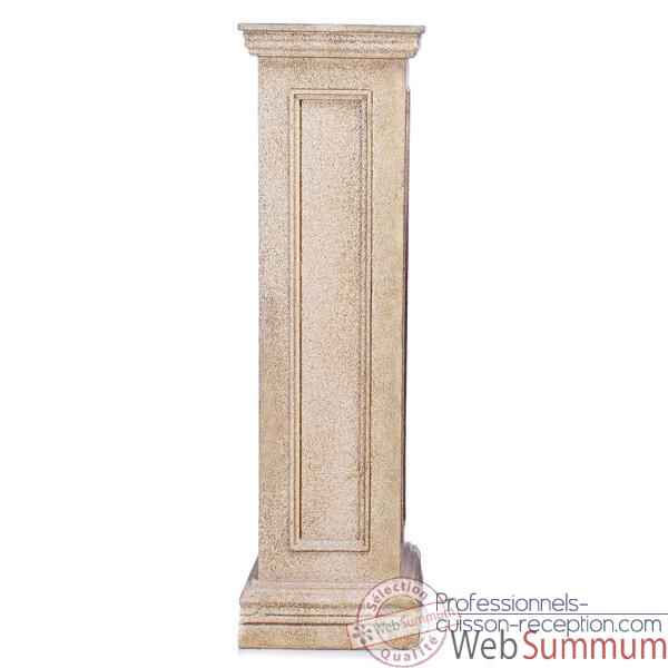 Video Colonne et Piedestal Bristol Pedestal Tall, granite -bs1033gry