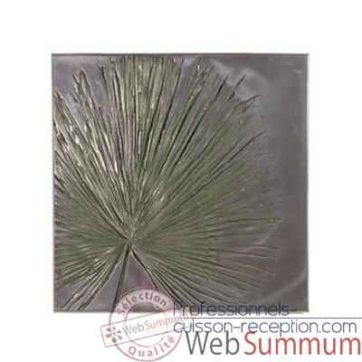 Décoration murale Anahaw Wall Plaque Medium Negative, aluminium -bs2324alu