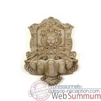 Fontaine Wind God Wall Fountain, granite -bs2197gry