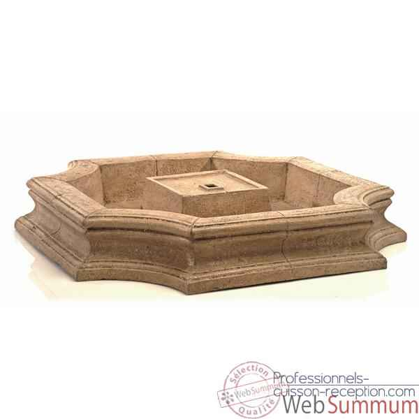 Video Fontaine Bath Fountain Basin, granite -bs3192gry