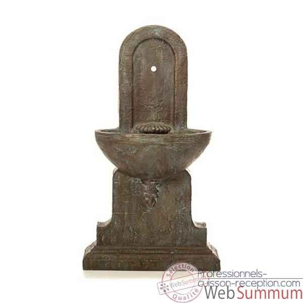 Fontaine Helene Fountain en gres bronze -bs3386sa -vb