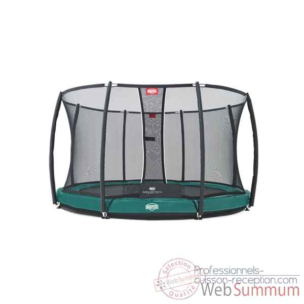 Trampoline Berg elite inground green 330 + safety net t-series 330 Berg Toys -37.11.92.00