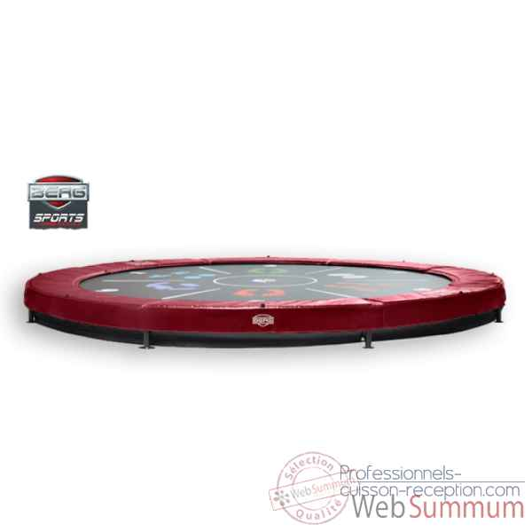 Trampoline Berg elite+ inground rouge 430 tattoo Berg Toys -37.14.00.24