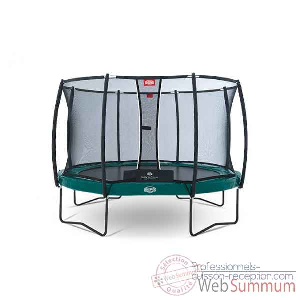 Trampoline Berg elite regular red 380 + safety net t-series 380 Berg Toys -37.12.81.00