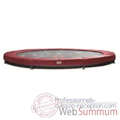 Berg trampoline elite+ 430 inground tattoo rouge -37.14.00.17