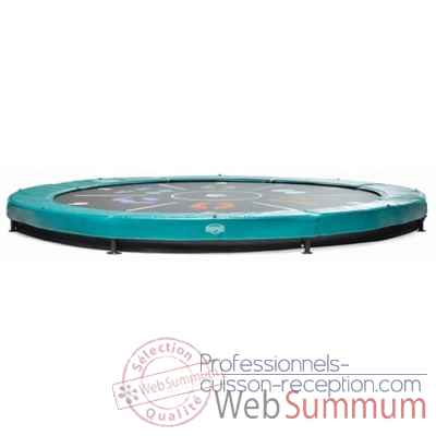 Berg trampoline elite+ 430 inground tattoo vert -37.14.00.18