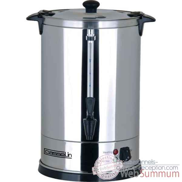 Percolateur a cafe 60 tasses petit electromenager - casselin -CPC60