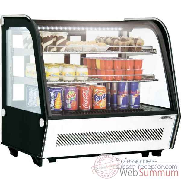 Vitrine refrigeree a poser 120l restauration collectivite - casselin -CVR120L