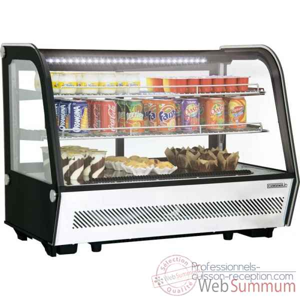Vitrine refrigeree a poser 160l restauration collectivite - casselin -CVR160L
