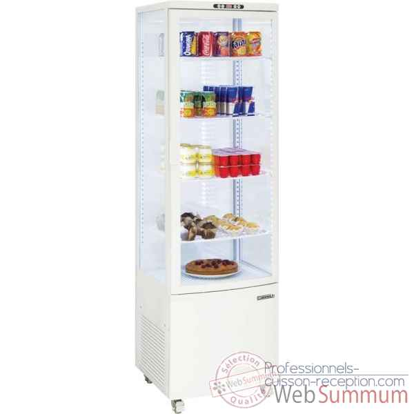 Vitrine refrigeree positive 235l restauration collectivite - casselin -CVR235LB