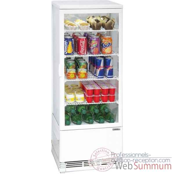 Vitrine refrigeree positive 98l restauration collectivite - casselin -CVR98LB