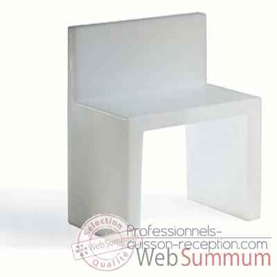 Video Chaise Design Blanche Angolo Retto Slide - SD AGR050
