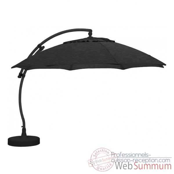 Kit parasol deporte rond carbone xl375 olefin Easy Sun -10219298
