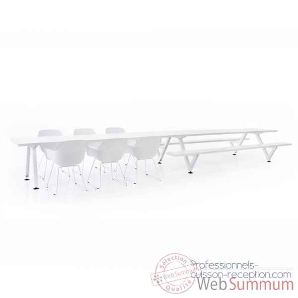 Table combi marina largeur 360cm Extremis -MPC6W0360B0165