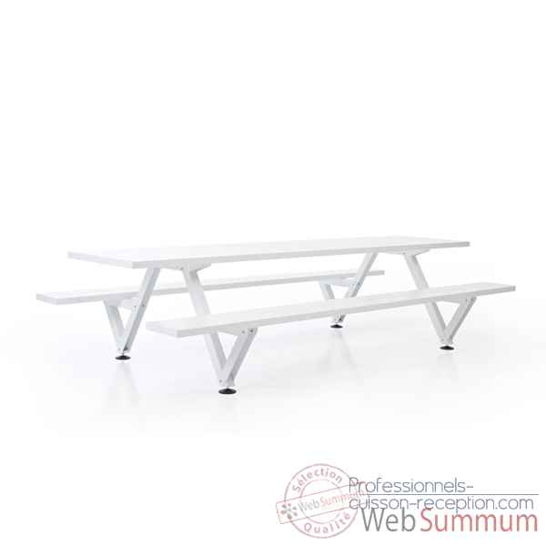 Table picnic marina largeur 495cm Extremis -MPT5W0495