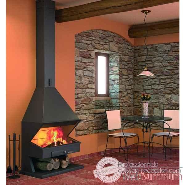 barbecue mendy inox sur chariot le marquier bci202 de barbecue professionnel. Black Bedroom Furniture Sets. Home Design Ideas