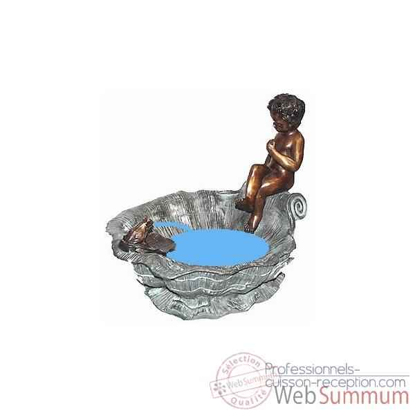 Fontaine Vasque en bronze -BRZ119