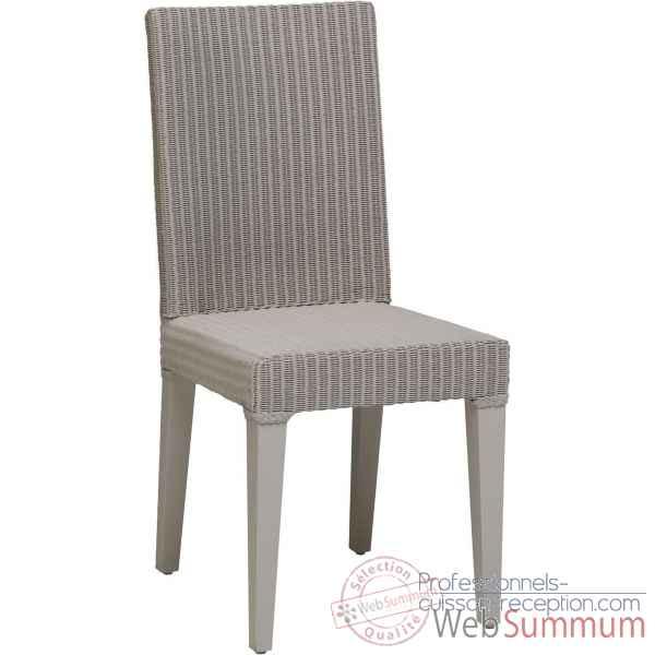 Chaise bridget rotin loom teinte mastic d 39 origine sans coussin kok cuisso - Coussin chaise rotin ...
