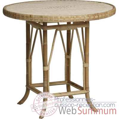 Table ronde diam KOK 80 sans filets de couleur Grand Pere - naturel KOK 825/2