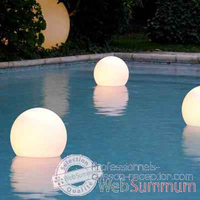 Video Boule lumineuse Acquaglobo 70 Slide - LP SFG070