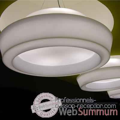 Luminaire suspension Ufo Blanc Slide - SD UFS200