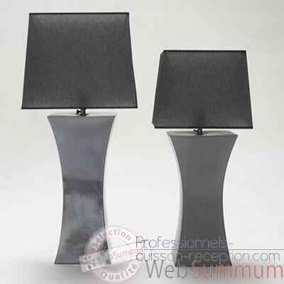 Video Lampe Eos argent PM Design FdC - 6283argent