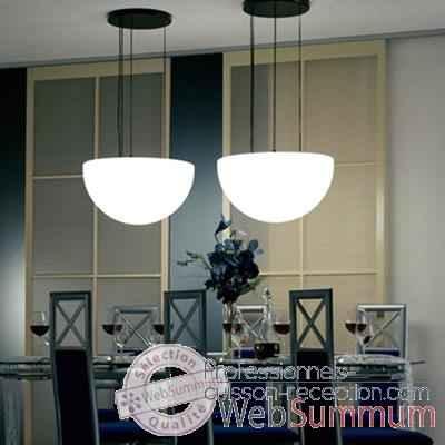 Lampe demi lune blanche suspendre moonlight mshr550115 for Lampe exterieur a suspendre