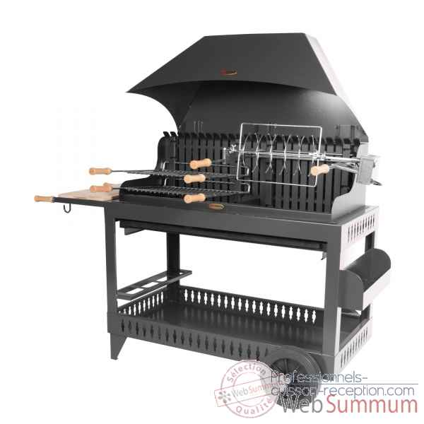 barbecue grilloir mechoui rouge le marquier bar3590c14. Black Bedroom Furniture Sets. Home Design Ideas