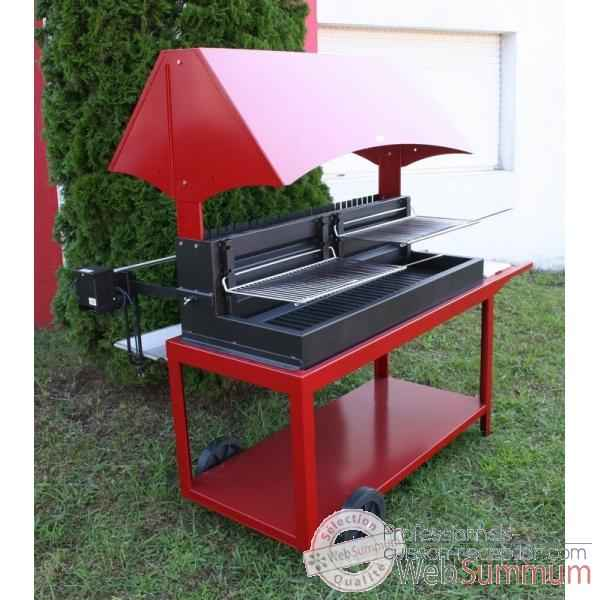 barbecue grilloir mechoui rouge le marquier bar3590c14 de barbecue professionnel. Black Bedroom Furniture Sets. Home Design Ideas