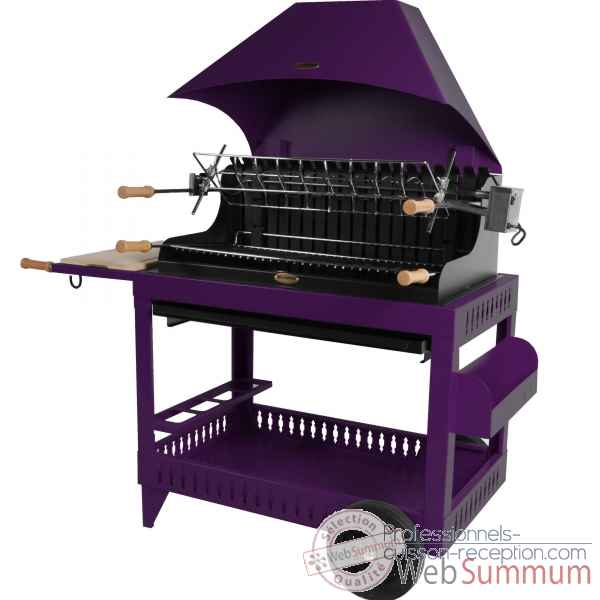 barbecues sur chariot dans barbecue professionnel sur professionnels cuisson reception. Black Bedroom Furniture Sets. Home Design Ideas