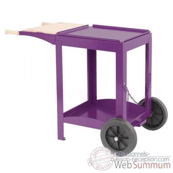 ainara 3 feux inox s chariot avec couvercle le marquier de. Black Bedroom Furniture Sets. Home Design Ideas