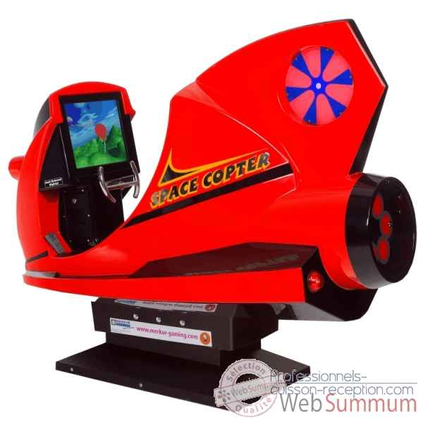 Space copter simulator Merkur Kids -73011943
