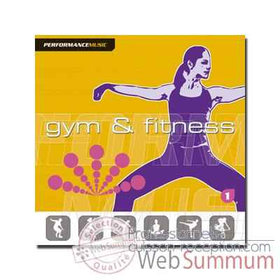 CD - Gym et Fitness 1 New cover - Performance music