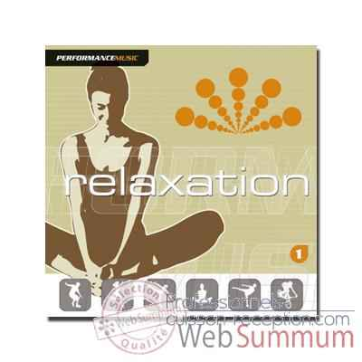 CD - Relaxation 1 New cover - Performance music