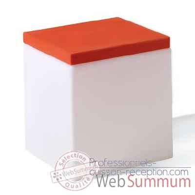 Cube design Soft Cube Orange Slide - SD SOF045