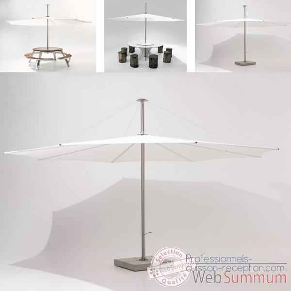Video Parasol Extremis InUmbra, pour table Arthur 8 personnes -IUW35