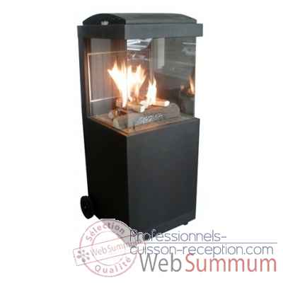 Nexus one outdoor gas fire place Patton -57GFP001