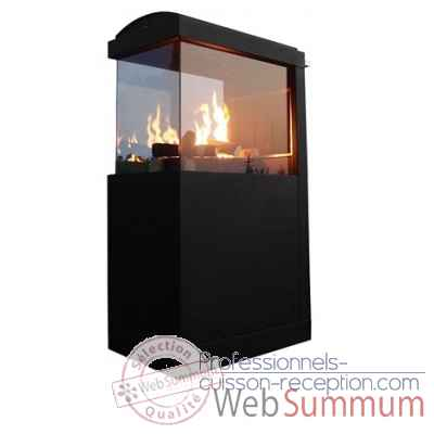 Nexus two outdoor fire place Patton -54GFP005
