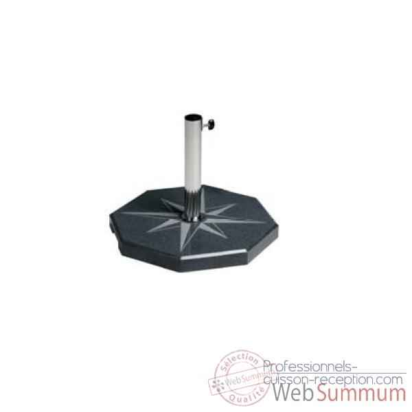 Video Pied de parasol Sywawa Socle Estrella anthracite -7276