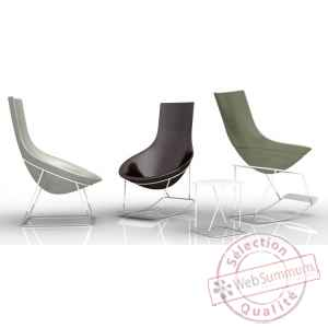 Rocking chair tom yam – base blanche Qui est Paul -380163