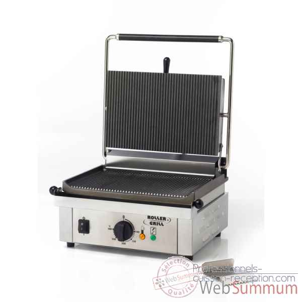 Grill contact simple pour panini, sandwich Roller-grill -R.PANINI