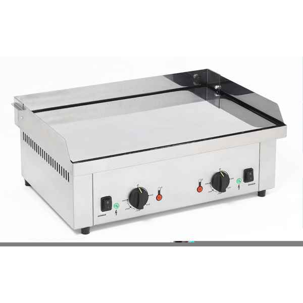 Video Planche Barbecue electrique double chromee  - Roller Grill R.PS600EC